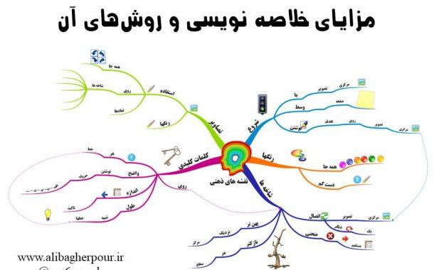 خلاصه نویسی ؛ مزایا و روشها
