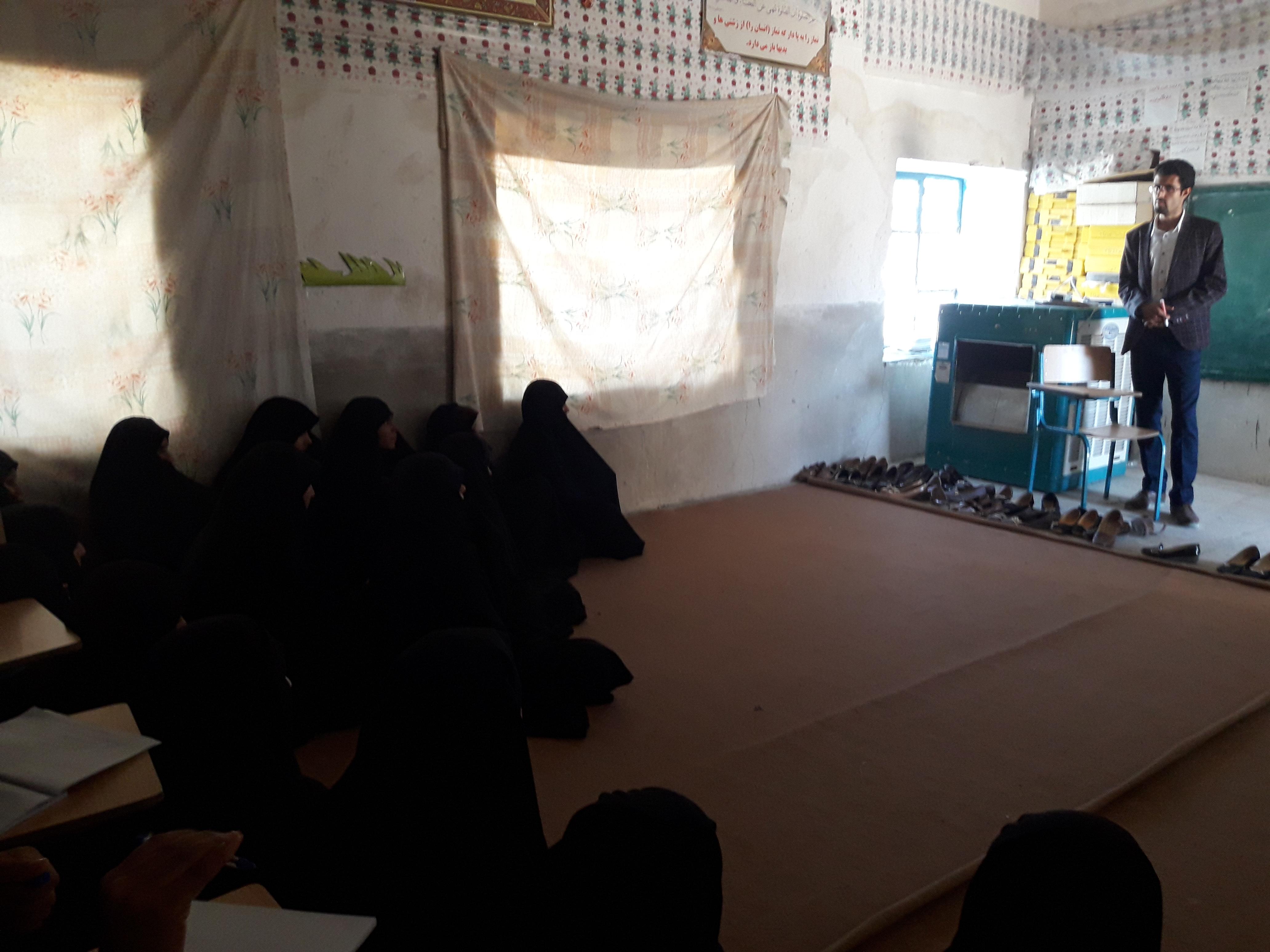 مشاوره تحصیلی در روستای سینکان