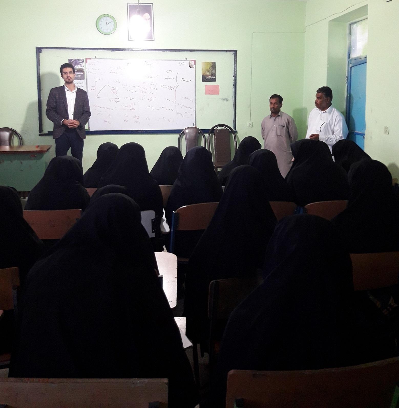 مشاوره تحصیلی در دبیرستان دخترانه